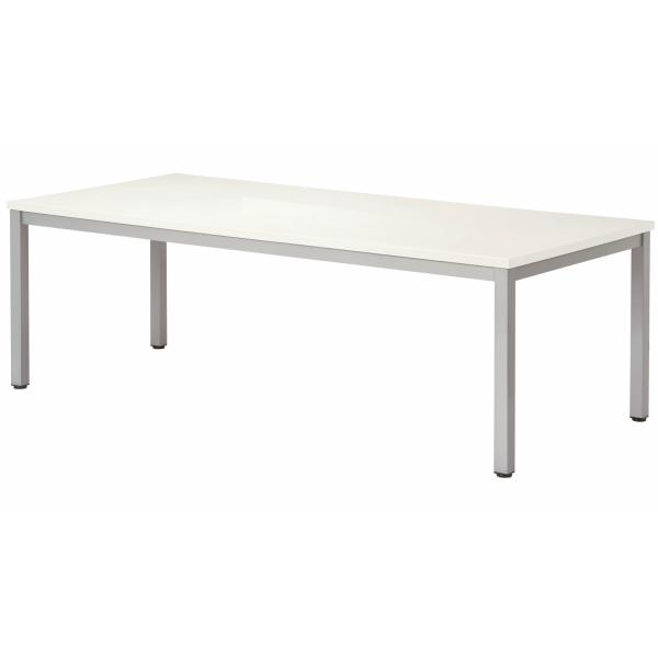 【法人限定】会議テーブル 幅1800×奥行1200×高さ720mm 4本脚 スタンダードタイプ WK-1812 ダークウッド ペールウッド ニューグレー オフホワイト テーブル 会議用テーブル ミーティングテーブル NISHIKI ニシキ工業