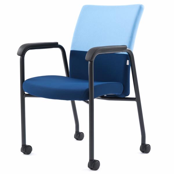 FURSYS T10ミーティングチェア クリアブルー(1脚) FHT101RF003 アールエフヤマカワ RFyamakawa 椅子 会議用椅子 会議椅子 キャスター付き イス ミーティングチェア 会議チェア 事務椅子 オフィス家具