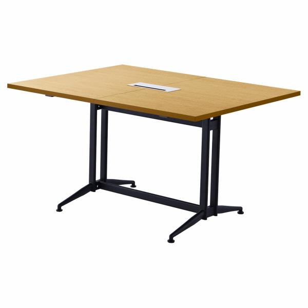 T字脚大会議テーブル 基本 ナチュラル RFTMT-1310NA アールエフヤマカワ RFyamakawa オフィスデスク 会議机 連結 エクステンション ミーティングデスク 会議用テーブル デスク フリーアドレス 大型テーブル ワークテーブル 作業台 机 オフィステーブル オフィス家具