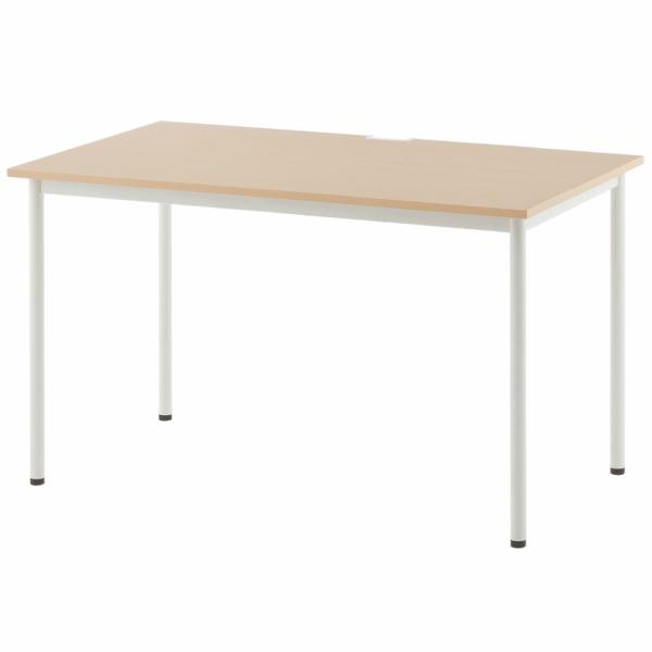 SHシンプルテーブル W1200xD700 ナチュラル SHST-1270NA アールエフヤマカワ RFyamakawa 机 テーブル デスク 事務 オフィスデスク オフィステーブル 会議用テーブル 事務机 会議テーブル ミーティングテーブル オフィス家具