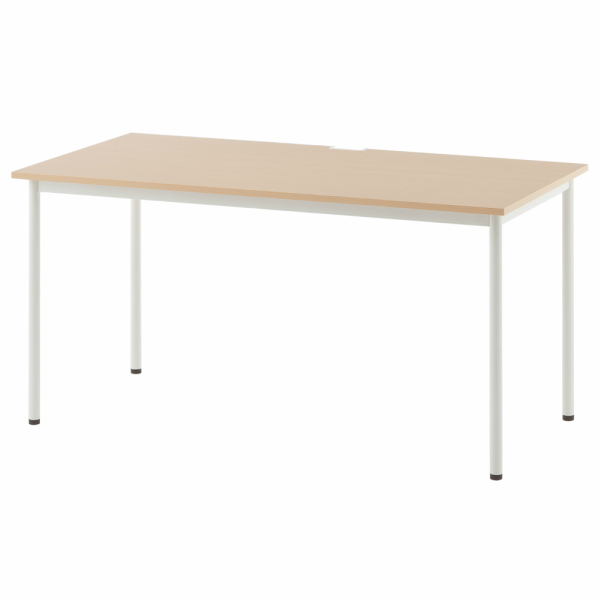 SHシンプルテーブル W1400xD700 ナチュラル SHST-1470NA アールエフヤマカワ RFyamakawa 机 テーブル デスク 事務 オフィスデスク オフィステーブル 会議用テーブル 事務机 会議テーブル ミーティングテーブル オフィス家具