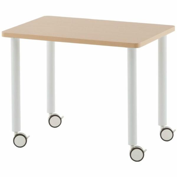 SHシンプルインナーテーブル W800xD555xH635 ナチュラル SHST-1240NA アールエフヤマカワ RFyamakawa 机 テーブル デスク 事務 オフィスデスク オフィステーブル 会議用テーブル 事務机 サイドテーブル 収納テーブル オフィス家具