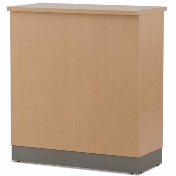 ノルム ハイカウンター W900xD450 ナチュラル (本体のみ) Z-SHHC-900NA アールエフヤマカワ RFyamakawa 受付カウンター 対面式 接客 受付 エントランス 待合室 店舗 カウンター 受付台 カウンター 受付テーブル オフィス家具