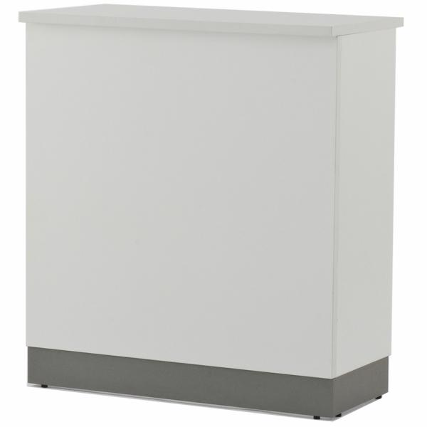ノルム ハイカウンター W900xD450 ホワイト (本体のみ) Z-SHHC-900WH アールエフヤマカワ RFyamakawa 受付カウンター 対面式 接客 受付 エントランス 待合室 店舗 カウンター 受付台 カウンター 受付テーブル オフィス家具