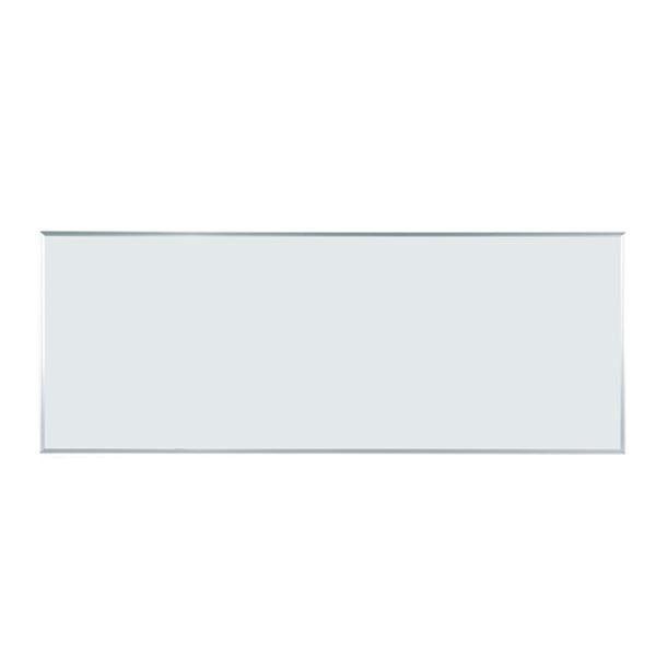 【送料無料】壁掛 ホワイトボード 無地 幅2410mm 高910mm ホーロー マグネット・イレーサー・マーカー付 [MH38] [馬印] MAJIシリーズ マジシリーズ スタンダードタイプ アルミ枠 オフィス家具 【smtb-tk】