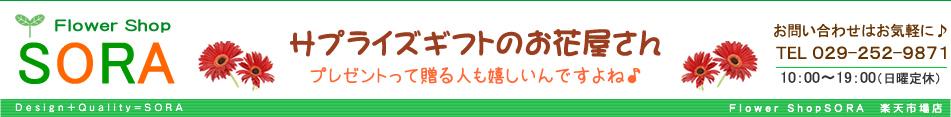 フラワーショップ SORA:フラワーギフト SORA/誕生日・名前詩/プリザーブドフラワー/贈り物