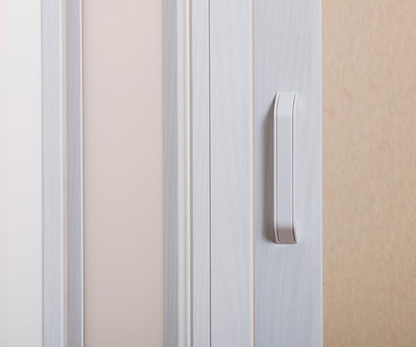 Panel door Sears 95cm in width X 174cm in height woodgraining two colors  (white dark) panel door accordion curtain accordion door panel door