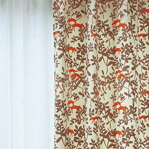 カーテン テラ 巾100×丈225cm(1枚入) E5116・E5117 セラヴィ 柄 モダン 北欧 モダン リビング アスワンカーテン ウォッシャブル カーテン 北欧