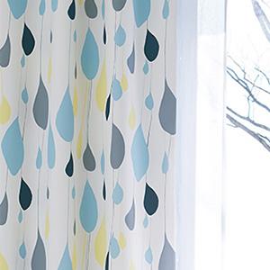 遮光カーテン オド 巾100×丈225cm(1枚入) E5158・E5159