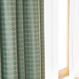 遮光カーテン カウス 巾100×丈225cm(1枚入)  E5179・E5180