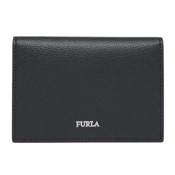 【ギフト ラッピング無料】FURLA MAN フルラ マルテ カードケース メンズ PT53 902077 MARTE CC CASE ONYX ブラック【新品 新作 未使用 正規品】