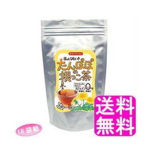 【送料無料】ティーブティック たんぽぽの根っこ茶 28ティーバッグ【18袋組】■ 日本緑茶センター Tea Boutipue ノンカフェイン タンポポの根