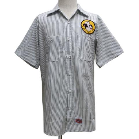 ANIMALIAアニマリア 半袖ワークシャツ[ SERVO ]AN19S-SH02【送料無料】