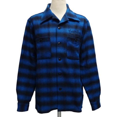 CREAMSODAクリームソーダ CS オンブレーチェックシャツPD34SN-01【送料無料】