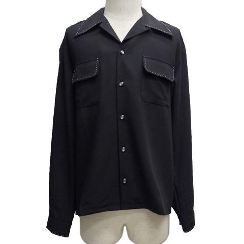 GOOD ROCKINグッドロッキン ジョーゼットハンドステッチ オープンシャツGRS-309【送料無料】