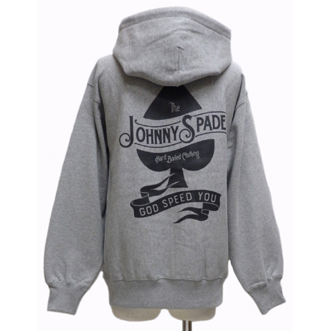 JOHNNY SPADEジョニースペード ZIPパーカー[ GOD SPEED YOU ]JSSW-151
