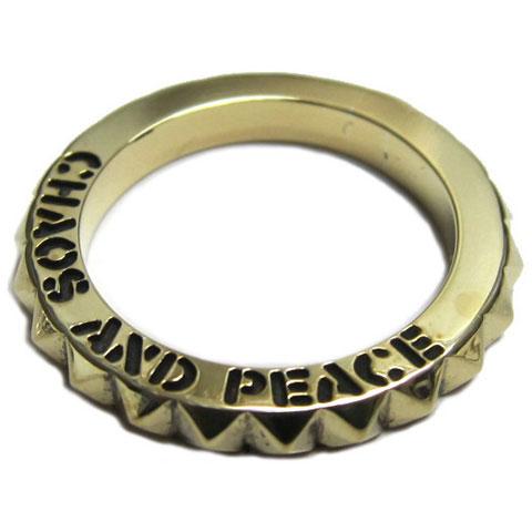 PROPAgANDAプロパガンダ CHAOS & PEACE ピラミッドリングP92104【送料無料】