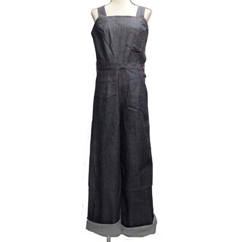 SAVOY CLOTHINGサボイクロージング レディース デニム 11oz サロペットパンツSVY-OA008【送料無料】