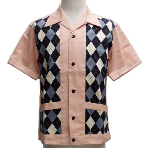 SAVOY CLOTHINGサボイクロージング アーガイルラウンジシャツSVY-SH265【送料無料】
