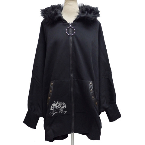 SEXPOTセックスポット BLACK BIG ドルマンパーカーSB08496-101【送料無料】