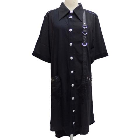 SEXPOTセックスポット BLACK ROCK シフォンシャツSB01078-101