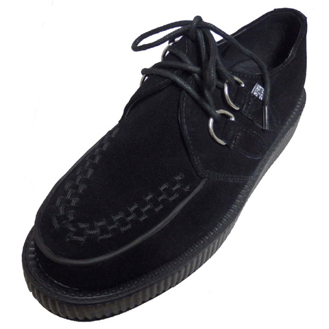 T.U.K VIVA LOW SOLE CREEPER[ BLACK SUEDE ]TUK-V7270【送料無料】