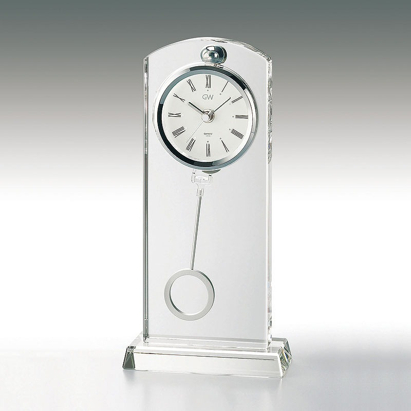 2020 気質アップ 新作 置時計のノベルティ 販促品 名入れ ギフト 記念品 時計 温度湿度 周年記念 電卓記念品 3万円以上送料無料 名入れ対応 勤続記念 時計カテゴリのセレナペンドラムクロック