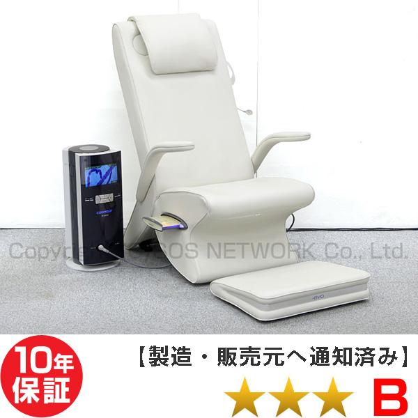 電位治療器 コスモドクター io9000(イオ9000)+eva(エヴァ)椅子セット 【中古】(Z)本体10年保証 椅子に傷あり