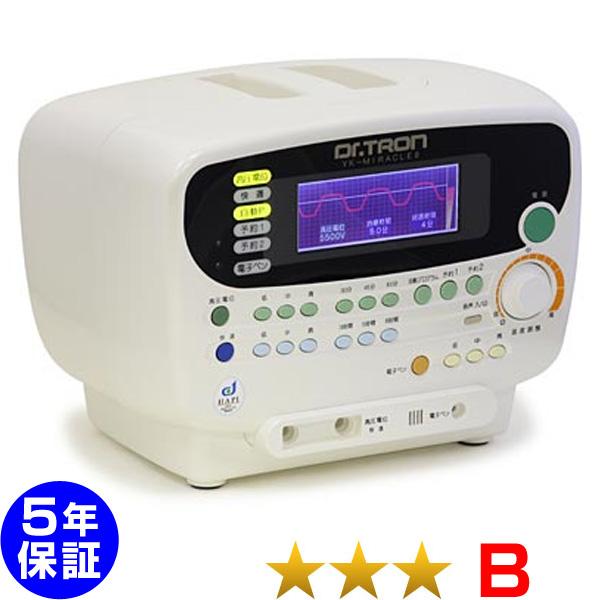 ドクタートロン YK-ミラクル8 程度B 5年保証 電位治療器 中古