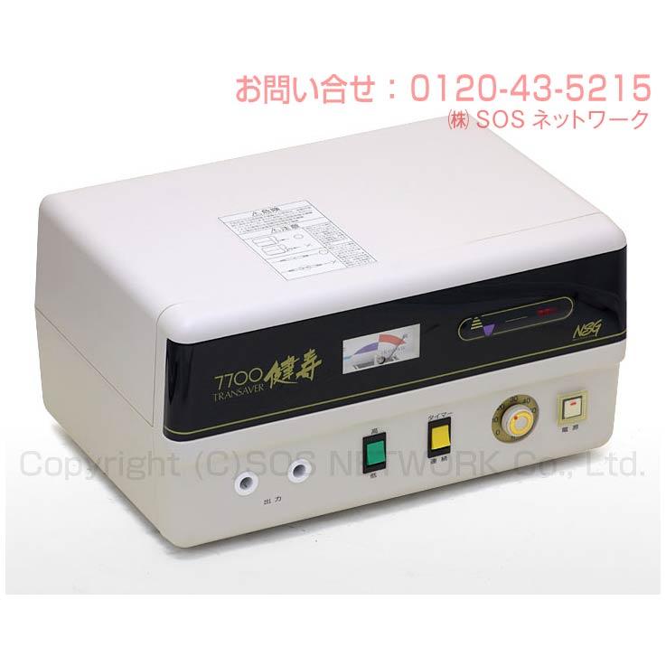 電位治療器トランセイバー健寿7700(現行型) 【中古】(Z)