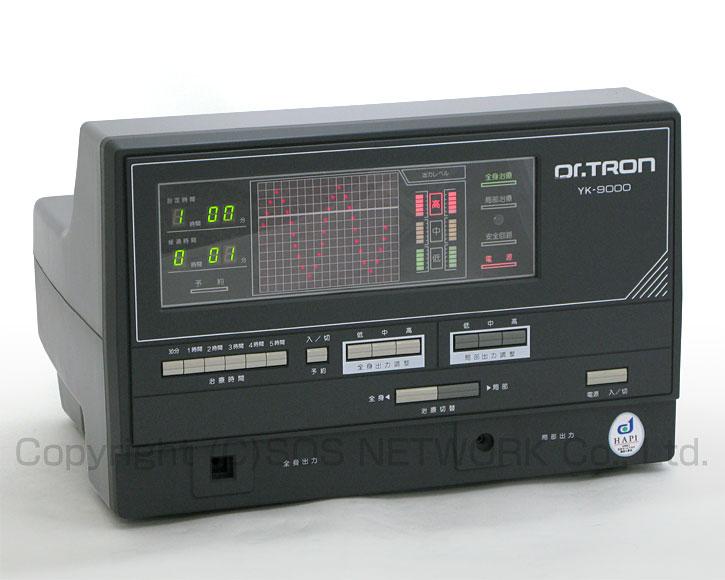 電位治療器 ドクタートロン YK-9000(黒) 【中古】(Z)7年保証-z-03