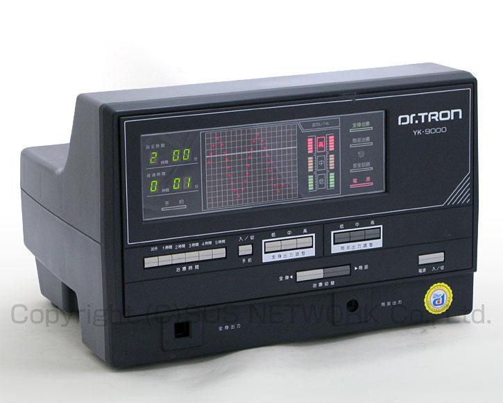 電位治療器 ドクタートロン YK-9000(黒) 【中古】(Z)7年保証-z-06