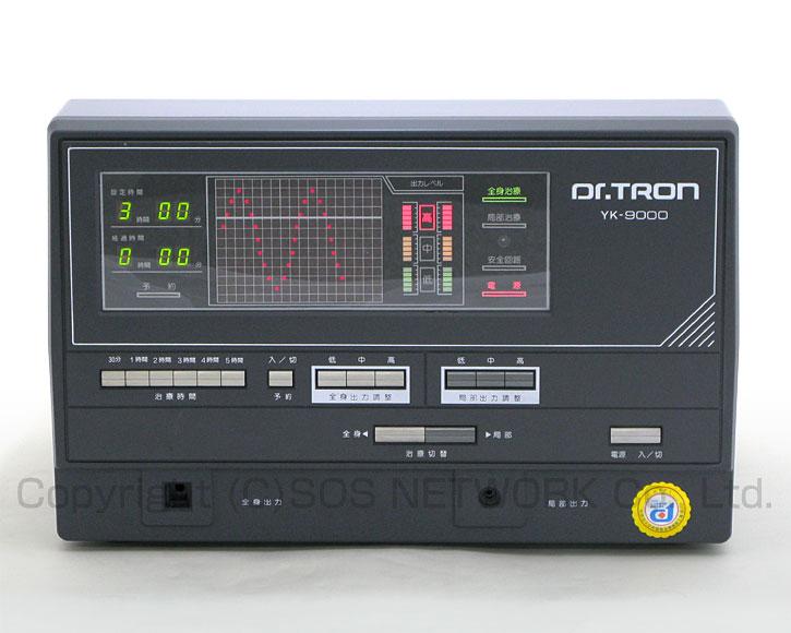 電位治療器 ドクタートロン YK-9000(黒) 【中古】(Z)7年保証-z-07