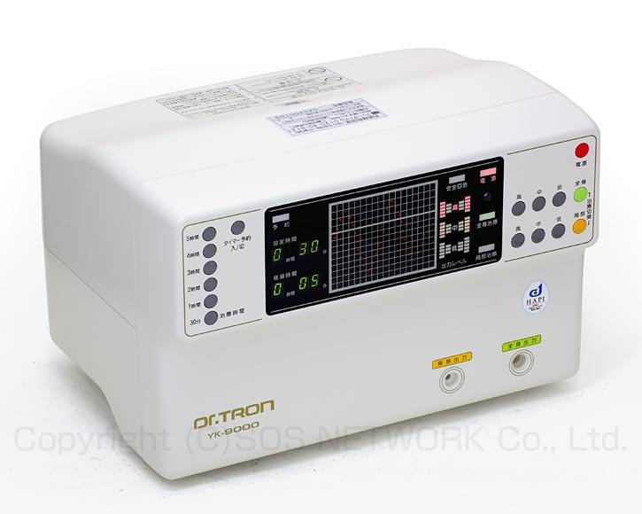 ドクタートロン YK-9000白タイプ 株式会社ドクタートロン 電位治療器 中古-z-15