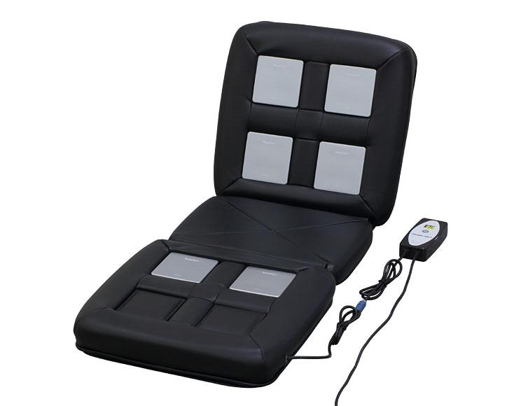 リラクゼーションパーク シートクッション ユニット6個タイプ ホーコーエン家庭用電気磁気治療器 ★★★(程度B)2年保証(Relax_seat_6-1-B) Magnetic therapy リラクゼーションパークSの前モデル ※ユニットとクッションは茶色
