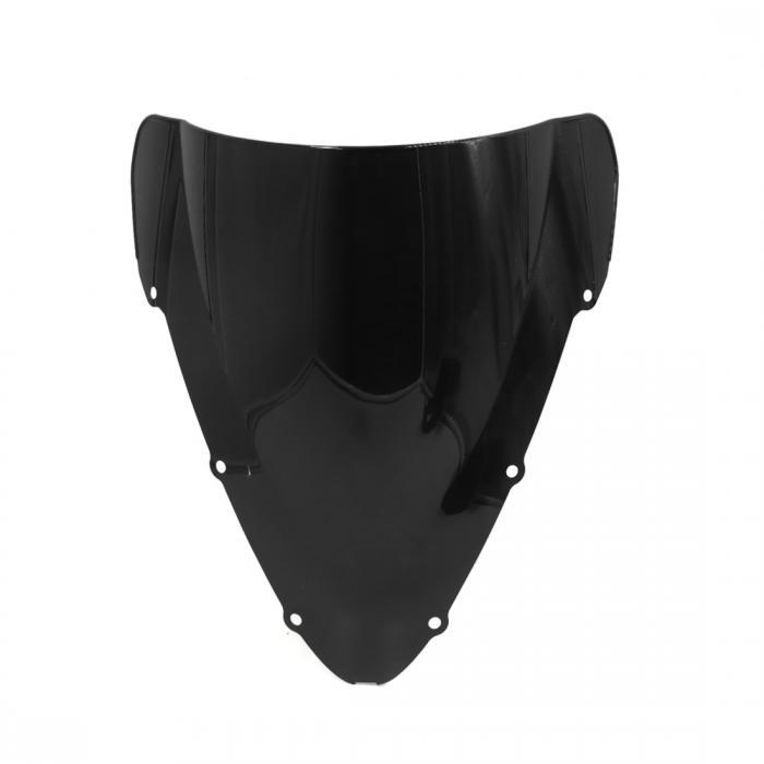 ソウテン uxcell フロントガラス オートバイ用 ホンダCBR600 F4I 2001-2008用 防風 ブラック