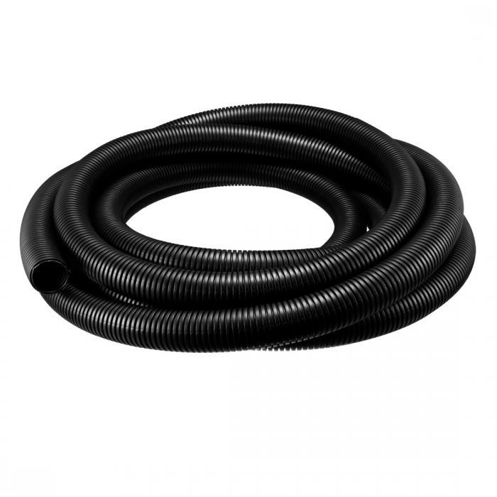 ソウテン uxcell コルゲートチューブ 電気配線用チューブ ポリエチレン ブラック 長さ6.5M 外径34.5mm