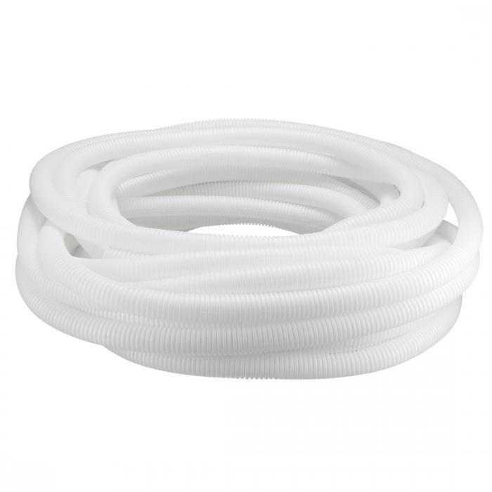 ソウテン コルゲートチューブ 電気配線用チューブ ポリエチレン ホワイト 長さ20M 外径25mm