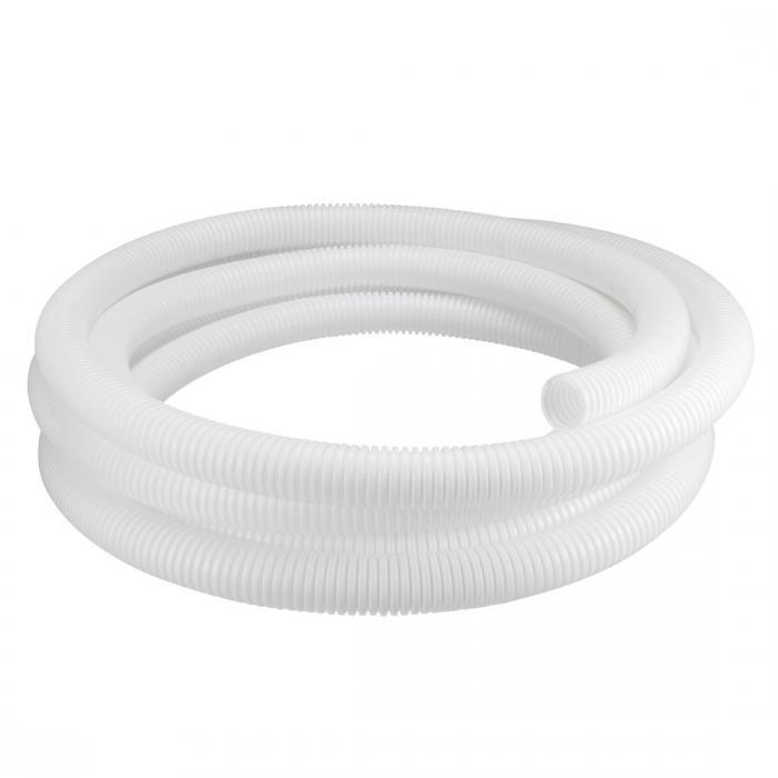 ソウテン コルゲートチューブ 電気配線用チューブ ポリエチレン ホワイト 長さ6.5M 外径28.5mm