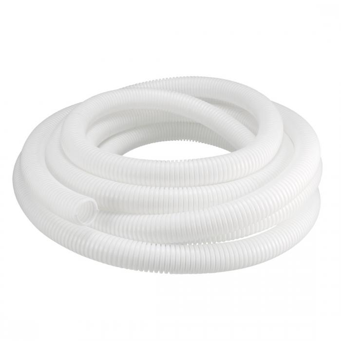 ソウテン uxcell コルゲートチューブ 電気配線用チューブ ポリエチレン ホワイト 長さ7M 外径28.5mm