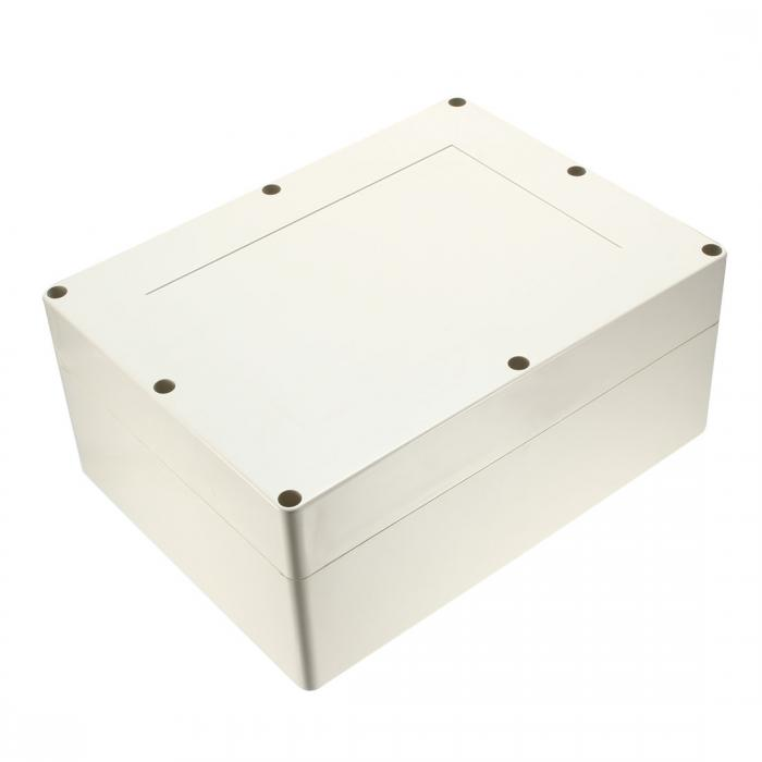 ソウテン uxcell ジャンクションボックス エンクロージャケース ABSプラスチック 電子 320 * 240 * 140mm グレー