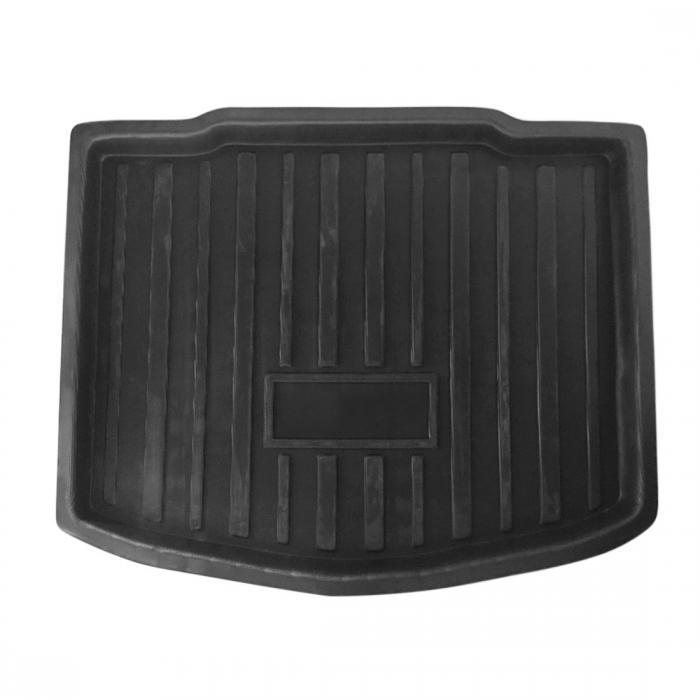 ソウテン uxcell リアトランクフロアマット 黒色 CRV 2017-2018用リアトランクブーツライナーカーゴマット床トレイ