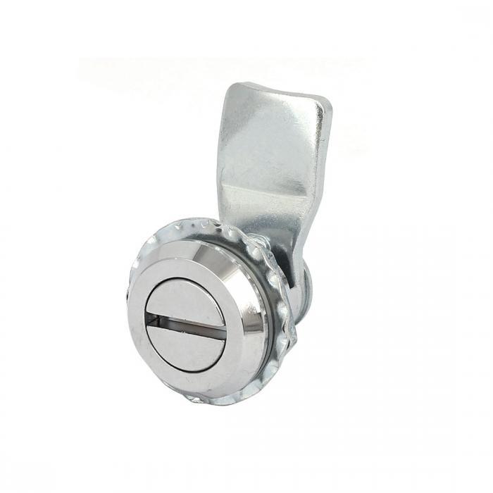 ソウテン uxcell パネルロック XK216-1モデル 金属材質 ハードウェアパーツ シルバートーン