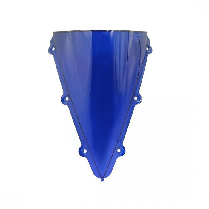 ソウテン uxcell ウインドシールド プラスチック ABS ブルー 48.5 x 35 x 12.5cm オートバイウィンドスクリーン 1個入り