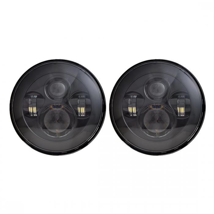 ソウテン ヘッドライト 耐久性 長寿命 LEDヘッドライト ヒートシンク設計 ヘッドライトアセンブリ 2個入り