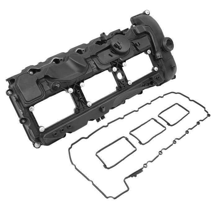 ソウテン uxcell 車のカムシャフトエンジンバルブカバーセット 11127570292 2011-2014 BMW X3 X5 X6 335i用