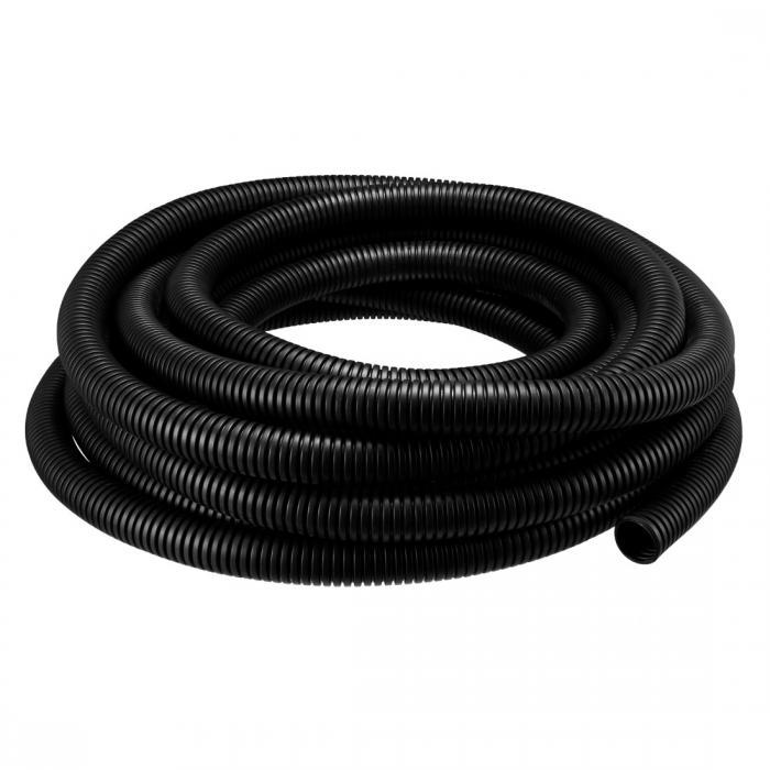 ソウテン uxcell コルゲートチューブ 電気配線用チューブ ホワイトケーブルオーガナイザー 外径25mm 長さ10M
