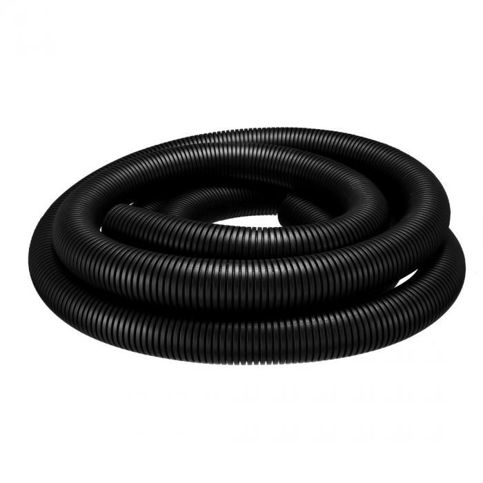 ソウテン コルゲートチューブ 電気配線用チューブ ポリエチレン ブラック 長さ6M 外径42.5mm