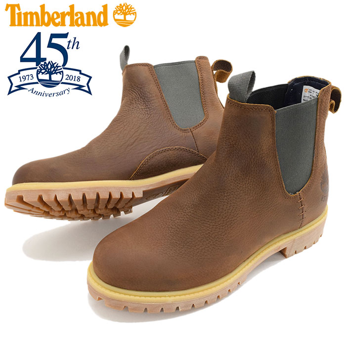 MENS, shoes men shoes for the side Gore man gentleman of the 45th anniversary of 6 inches of premium Chelsea Medium Brown Full Grain(timberland A1UHZ