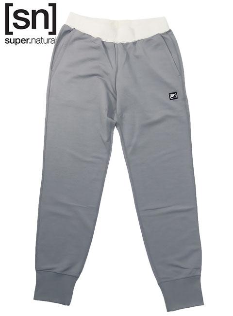 【sn】super.natural スーパーナチュラル メンズ M SWEAT MASTER RIB PANTS / ジョガーパンツ M003950-714